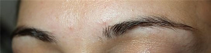 Client #22 - Before Permanent Makeup Eyebrows #2