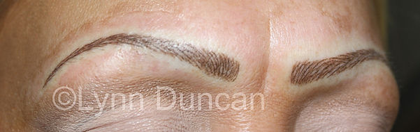 Client #21 - After Permanent Makeup Eyebrows