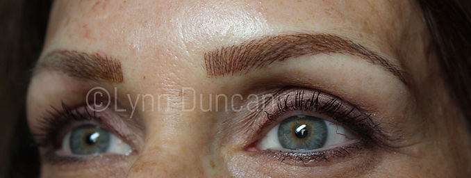 Client #10 - After Permanent Makeup Eyebrows #3