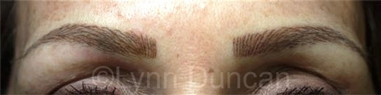 Client #25 - After Permanent Makeup Eyebrows