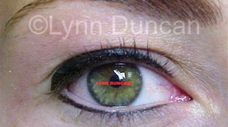 Client #2 - After Permanent Makeup Eyeliner #2