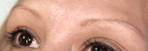 Client #16 - Before Eyebrow Microblading