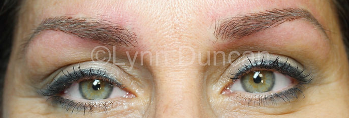 Client #3 - After Permanent Makeup Eyebrows