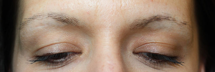 Client #4 - Before Permanent Makeup Eyebrows