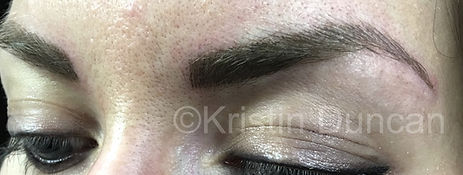 Client #10 - After Eyebrow Microblading #2