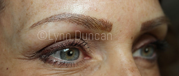 Client #10 - After Permanent Makeup Eyebrows #2