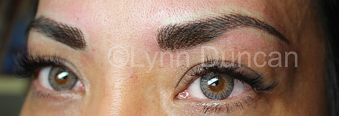 Client #8 - After Permanent Makeup Eyebrows #2