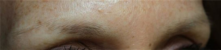 Client #25 - Before Permanent Makeup Eyebrows #2