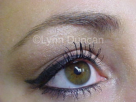 Client #3 - After Permanent Makeup Eyeliner #2