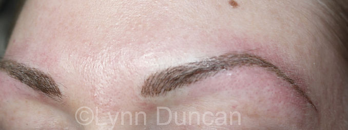 Client #16 - After Permanent Makeup Eyebrows #3