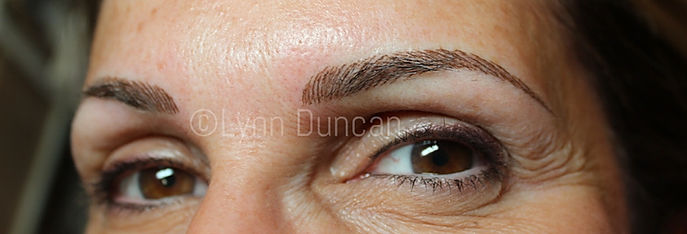 Client #9 - After Permanent Makeup Eyebrows #2