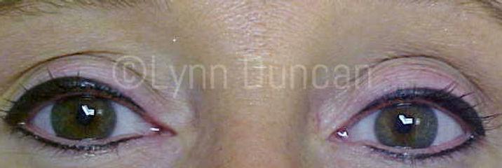 Client #13 - After Permanent Makeup Eyeliner