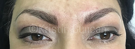 Client #11 - After Eyebrow Microblading