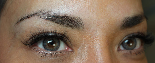 Client #8 - Before Permanent Makeup Eyebrows