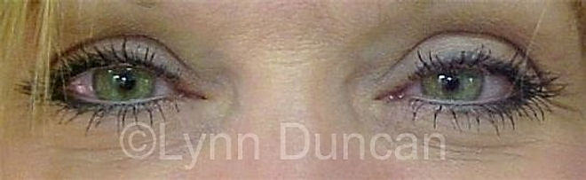Client #1 - After Permanent Makeup Eyeliner