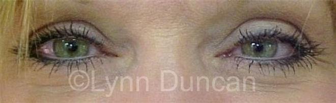 Client #1 - After Permanent Makeup Eyeliner