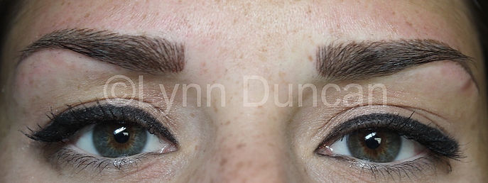 Client #6 - After Permanent Makeup Eyebrows