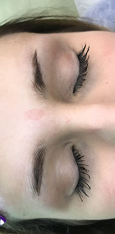 Client #1 - Before Eyebrow Microblading
