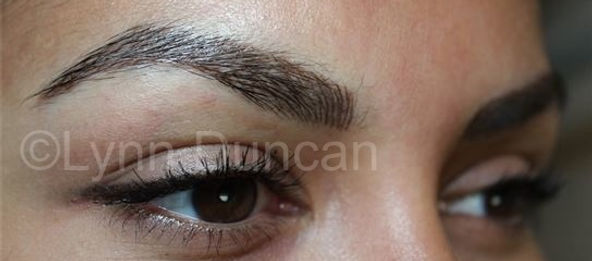 Client #1 - After Permanent Makeup Eyebrows #2