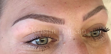 Client #3 - After Eyebrow Microblading #2