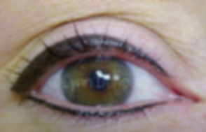 Client #13 - After Permanent Makeup Eyeliner #2