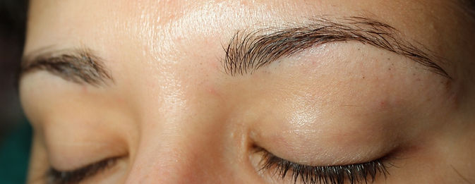 Client #7 - Before Permanent Makeup Eyebrows #2