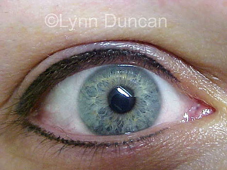 Client #7 - After Permanent Makeup Eyeliner #2