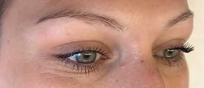 Client #3 - Before Eyebrow Microblading #2