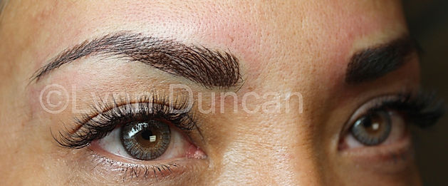 Client #8 - After Permanent Makeup Eyebrows