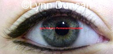 Client #18 - After Permanent Makeup Eyeliner