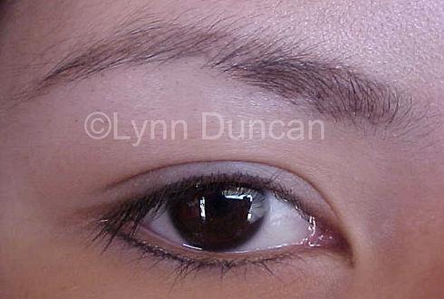 Client #11 - After Lower Permanent Makeup Eyeliner #2