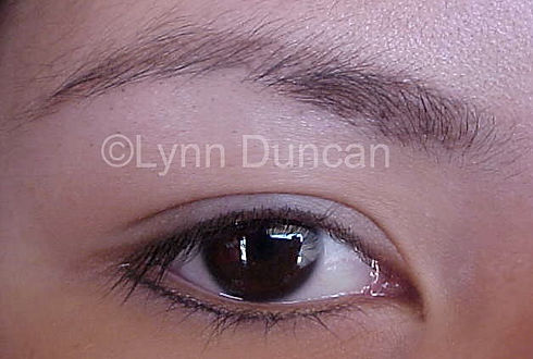 Client #11 - After Lower Permanent Makeup Eyeliner #2
