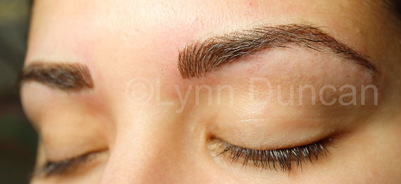 Client #7 - After Permanent Makeup Eyebrows #3