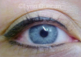Client #4 - After Permanent Makeup Eyeliner #2