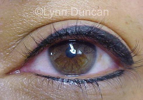 After Permanent Makeup Eyeliner