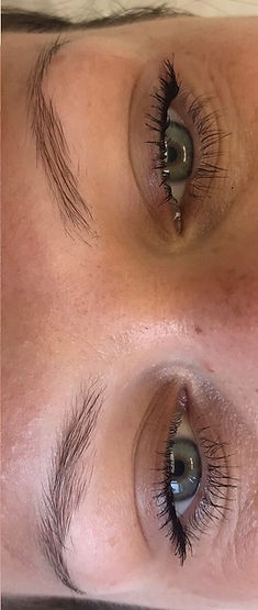 Client #3 - Before Eyebrow Microblading