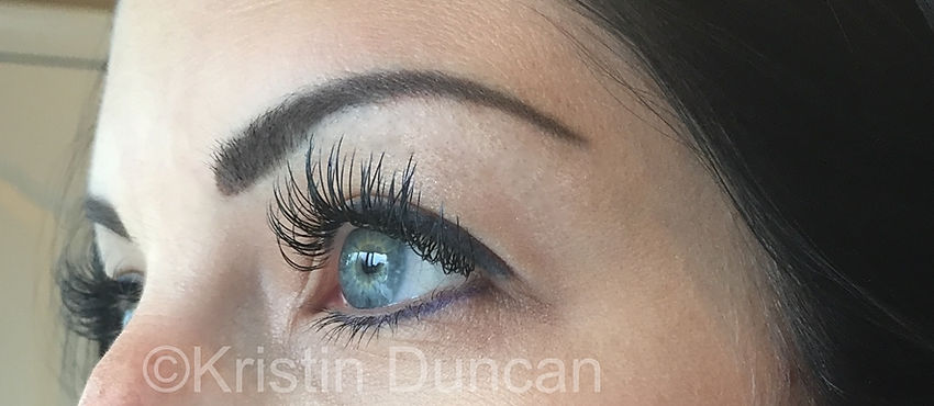 Client #2 - After Eyelash Extensions #3