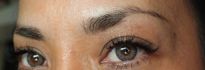 Client #8 - Before Permanent Makeup Eyebrows #2