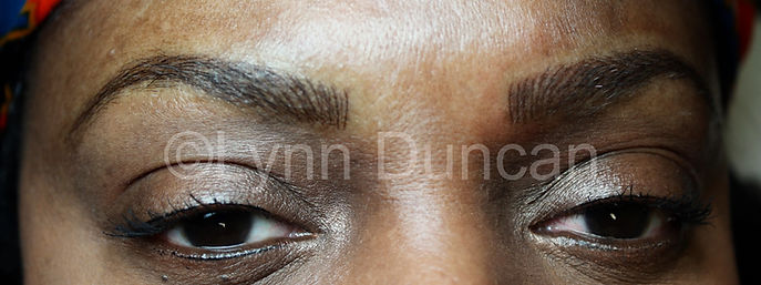 Client #5 - After Permanent Makeup Eyebrows #2