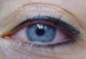 Client #4 - After Permanent Makeup Eyeliner #3