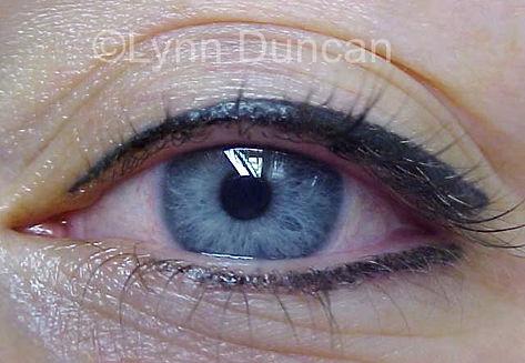 Client #4 - After Permanent Makeup Eyeliner #3