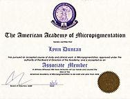 Amrican Academy Of Micropigmentation - Lynn Duncan