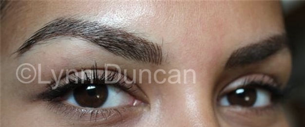 Client #1 - After Permanent Makeup Eyebrows