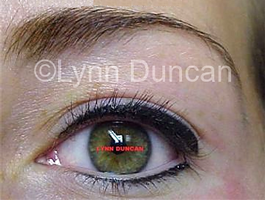 Client #2 - After Permanent Makeup Eyeliner #3