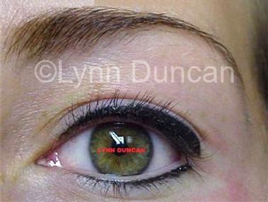 Client #2 - After Permanent Makeup Eyeliner #3