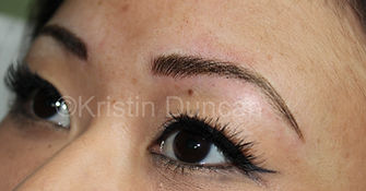 Client #12 - After Eyebrow Microblading #2
