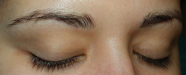 Client #7 - Before Permanent Makeup Eyebrows