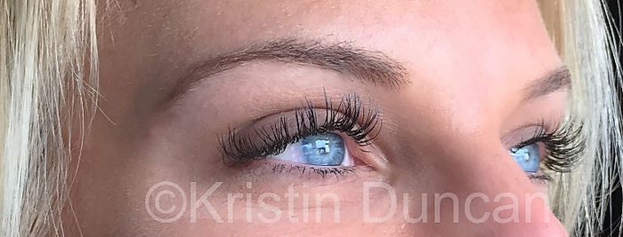 Client #1 - After Eyelash Extensions #2