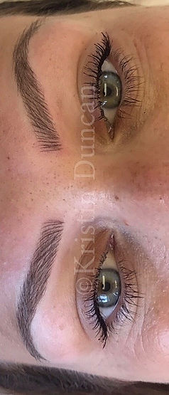 Client #3 - After Eyebrow Microblading