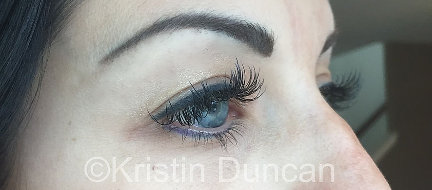 Client #2 - After Eyelash Extensions #2